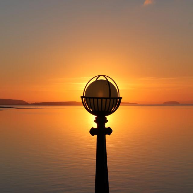 """Sun Lamp"" stock image"