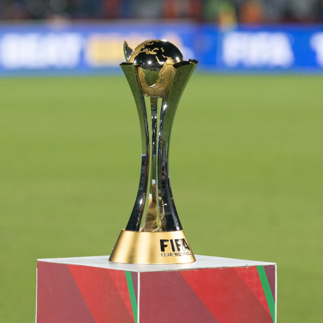 """""""FIFA Trophy"""" stock image"""