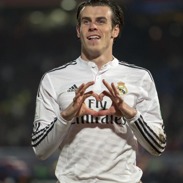 """Gareth Bale"" stock image"