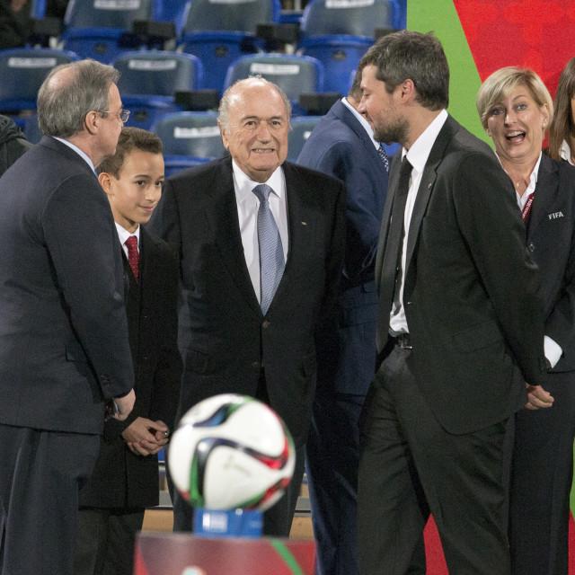 """""""Joseph """"Sepp"""" Blatter"""" stock image"""