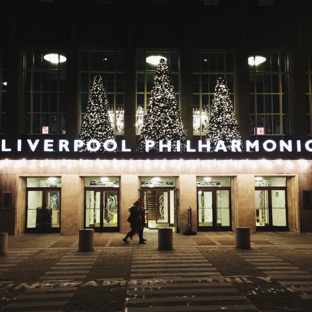 """Liverpool Philharmonic"" stock image"