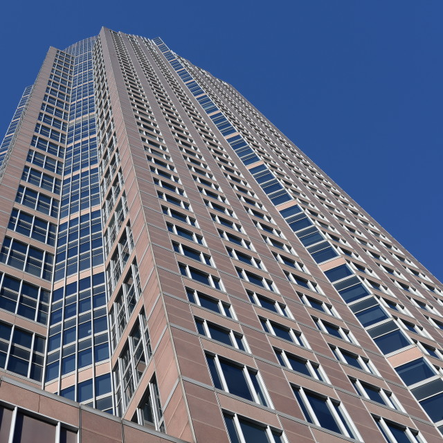 """Messeturm, Frankfurt"" stock image"