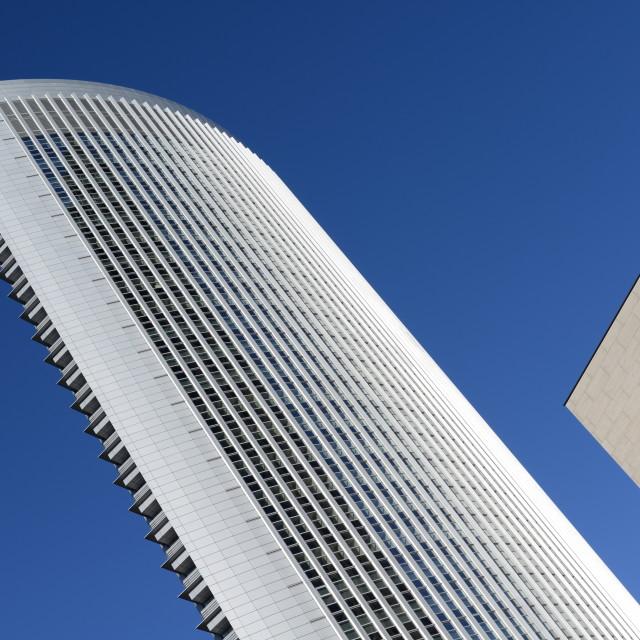 """""""Skyscraper in Frankfurt, Germany"""" stock image"""