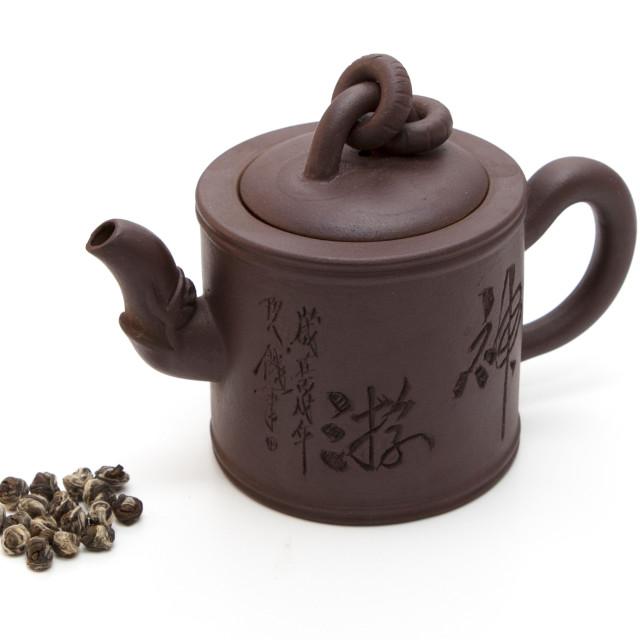 """Chinese teapot"" stock image"