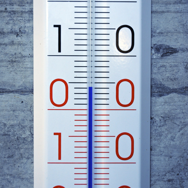 """Thermometer"" stock image"