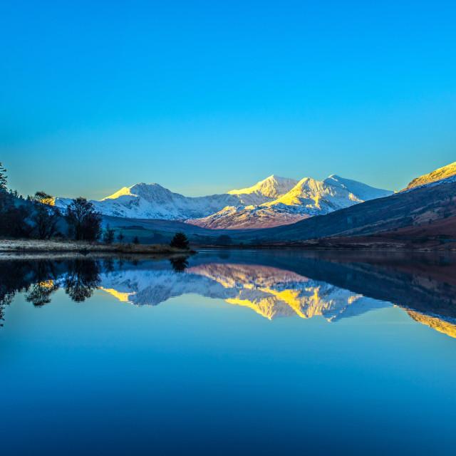"""National Park Winter Mountain Landscape"" stock image"