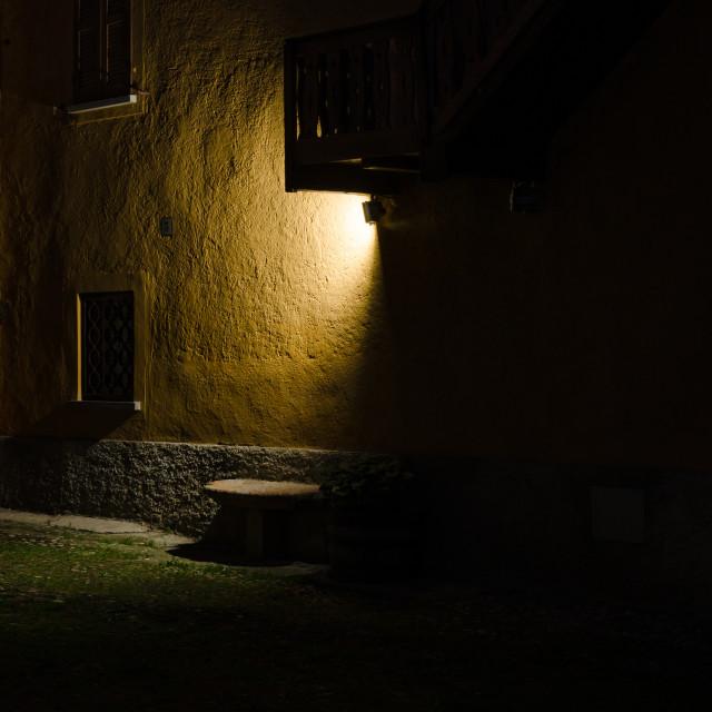 """Notturno (nighttime)"" stock image"