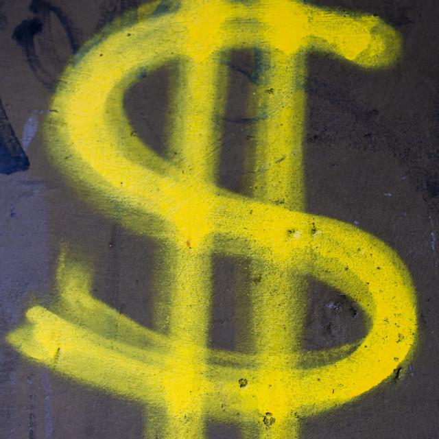 """Dollar sign"" stock image"