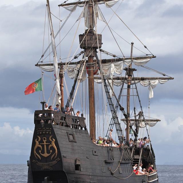 """""""La Santa María"""" stock image"""