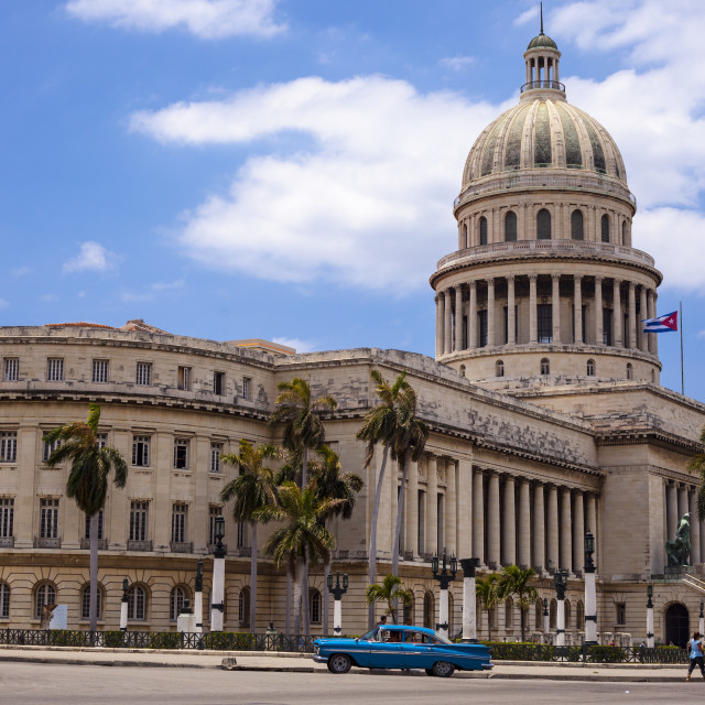 """Capitol Building in Havana, Cuba"" stock image"