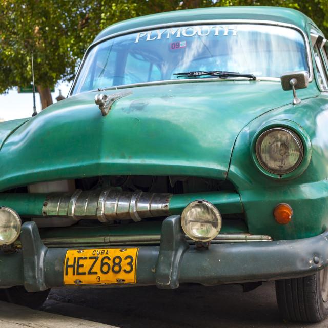 """""""Yank Tank in Havana."""" stock image"""