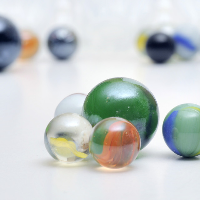 """""""Marbles"""" stock image"""