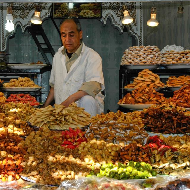 """Morocco market"" stock image"
