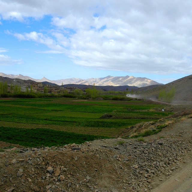 """Moroccan landscape"" stock image"