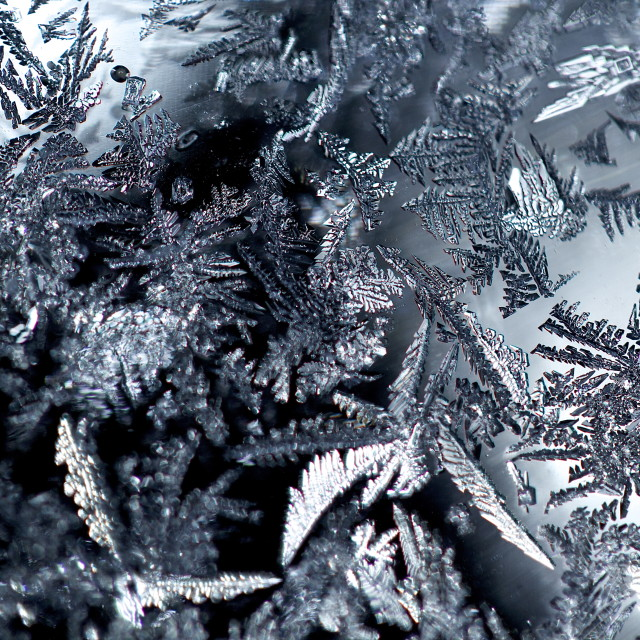 """Close-Up Ice"" stock image"