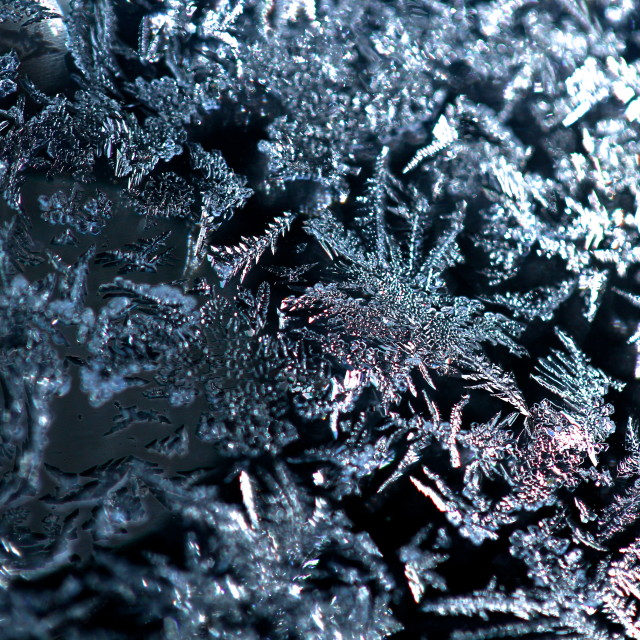 """Ice Macro"" stock image"