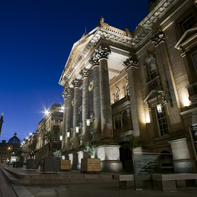 """Theater Royal, Newcastle Upon Tyne."" stock image"