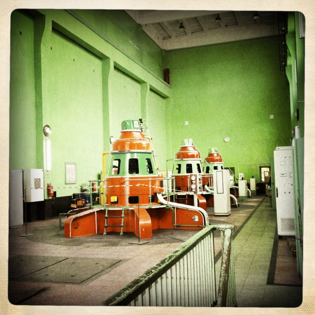 """Turbine Hall - Darunta, Jalalabad"" stock image"