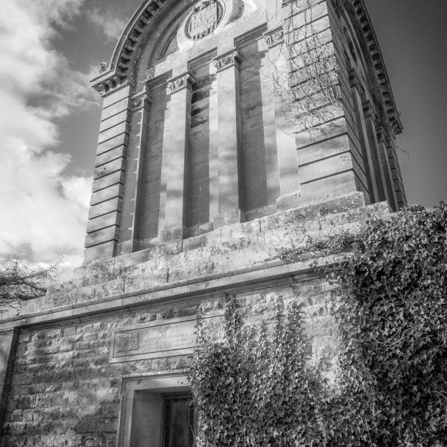 """""""Monteath Mausoleum"""" stock image"""