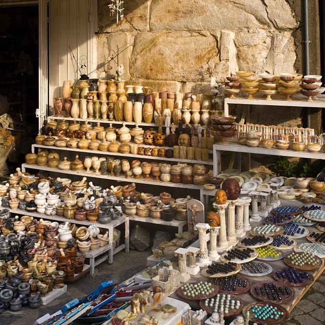 """Turkish Stall"" stock image"