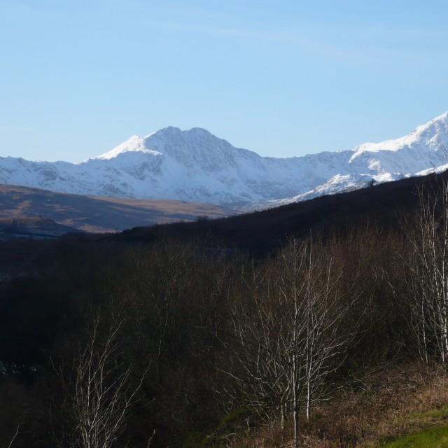 """Snowdonia"" stock image"
