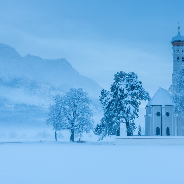 """bavarian winter"" stock image"