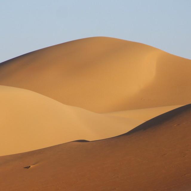 """""""Golden sand"""" stock image"""