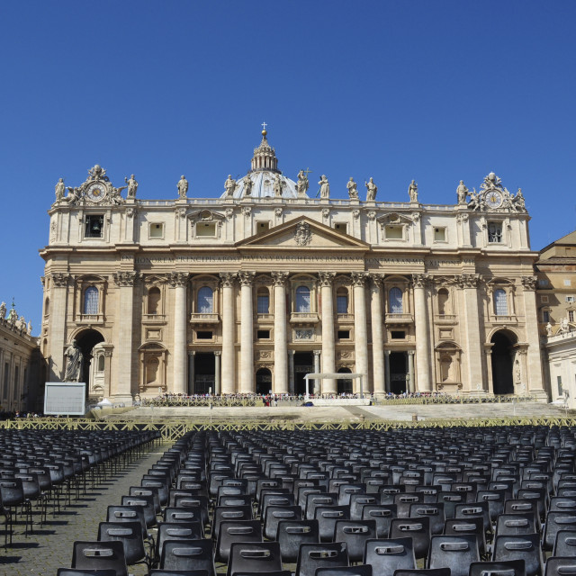"""""""St Peter's, Rome"""" stock image"""