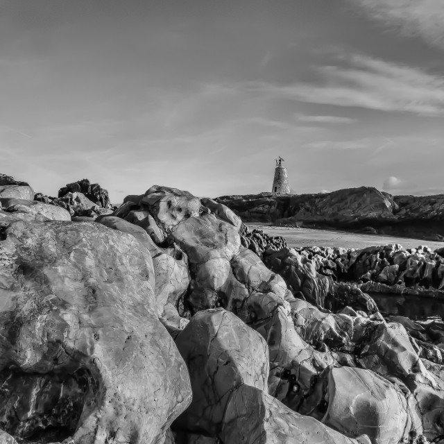 """""""Llanddwyn Island"""" stock image"""