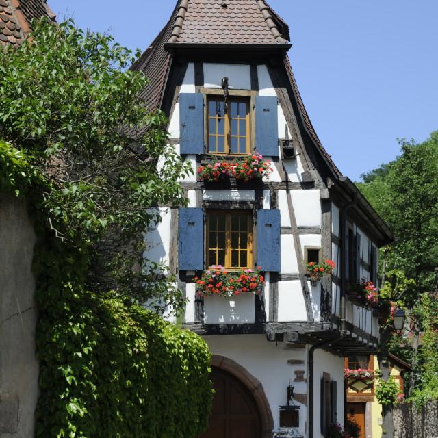 """""""House in Kaysersberg"""" stock image"""