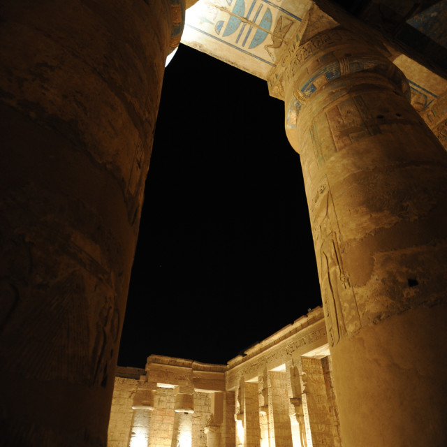"""Medinet Habu Temple Egypt"" stock image"