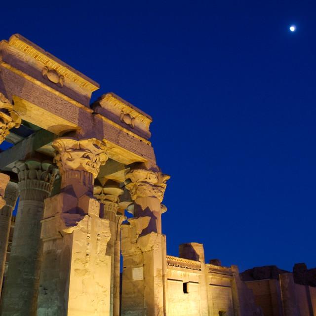 """Egypt Temple of Kom Ombo"" stock image"