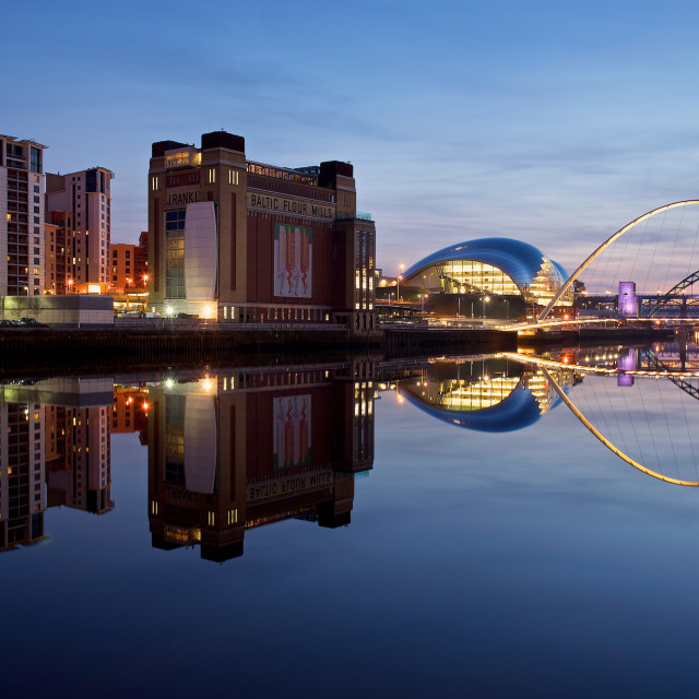 """Newcastle Quayside"" stock image"