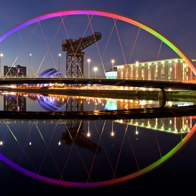 """""""City of Glasgow"""" stock image"""