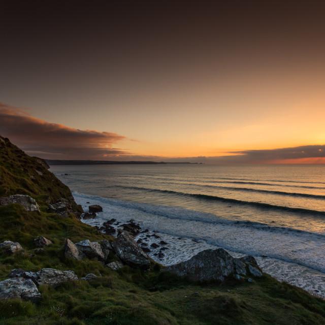 """North Coast Surf"" stock image"