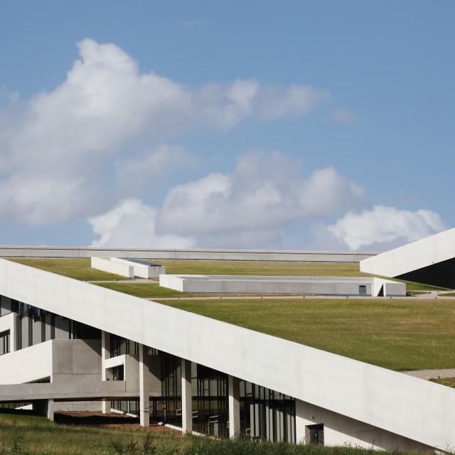 """Moesgaard museum in Denmark"" stock image"