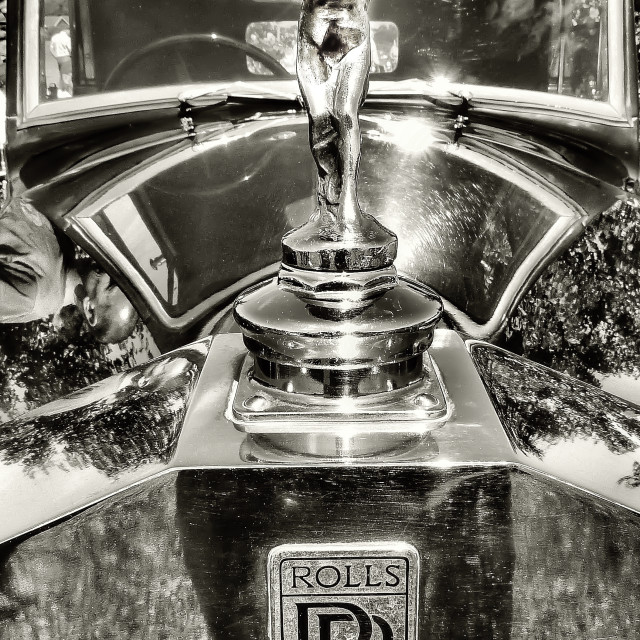 """Rolls Royce The Spirit of Ecstasy"" stock image"