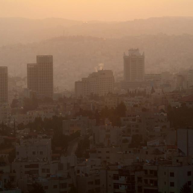 """""""Amman, capital of Jordan"""" stock image"""