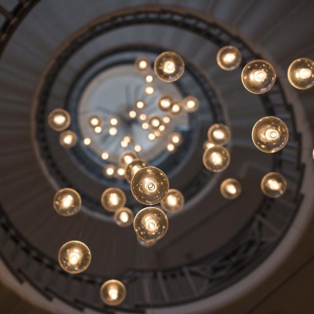 """Balls of Light"" stock image"