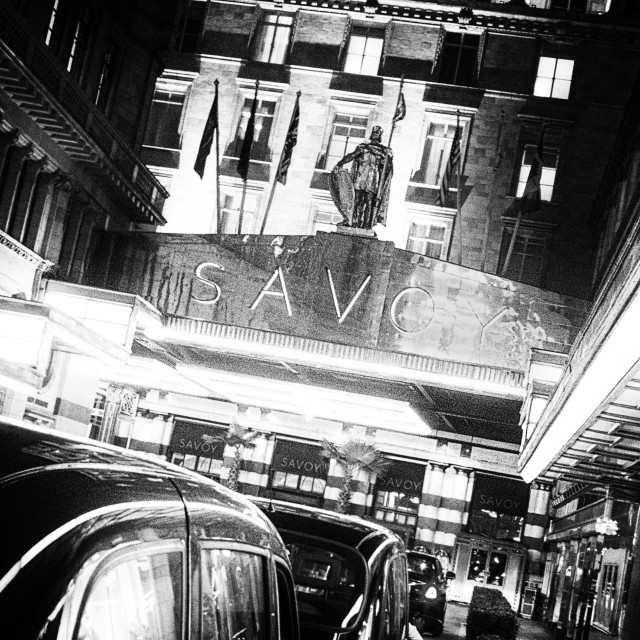 """Savoy Hotel"" stock image"