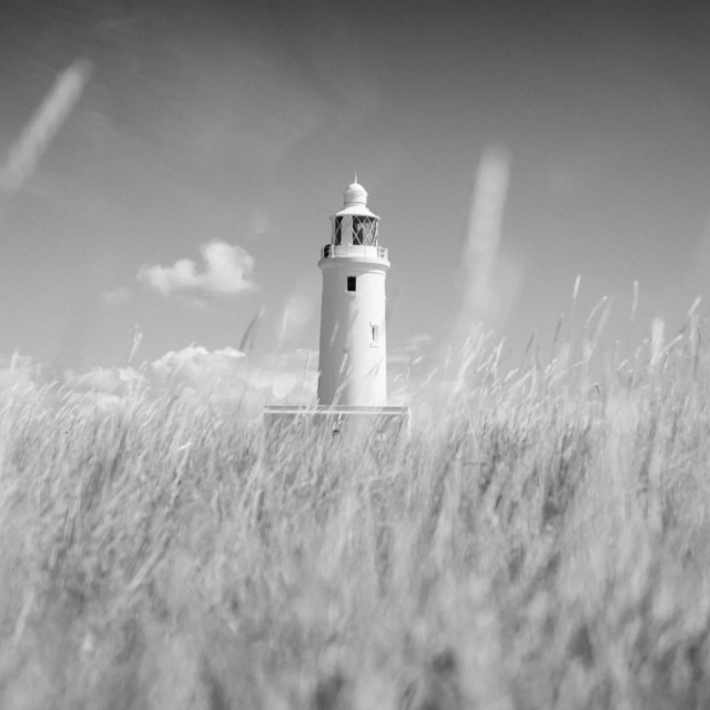 """Keyhaven Lighthouse"" stock image"