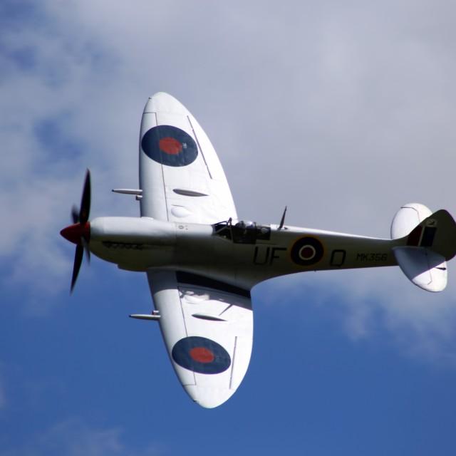 """Supermarine Spitfire MK356"" stock image"
