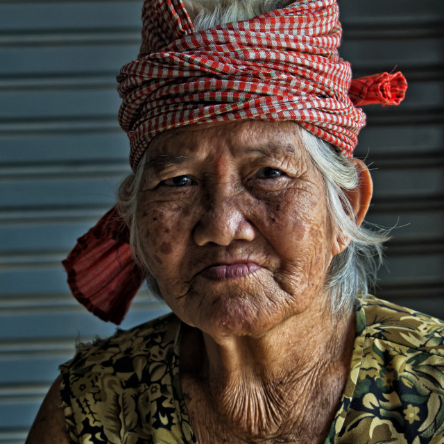 """KAMPOT WOMAN"" stock image"