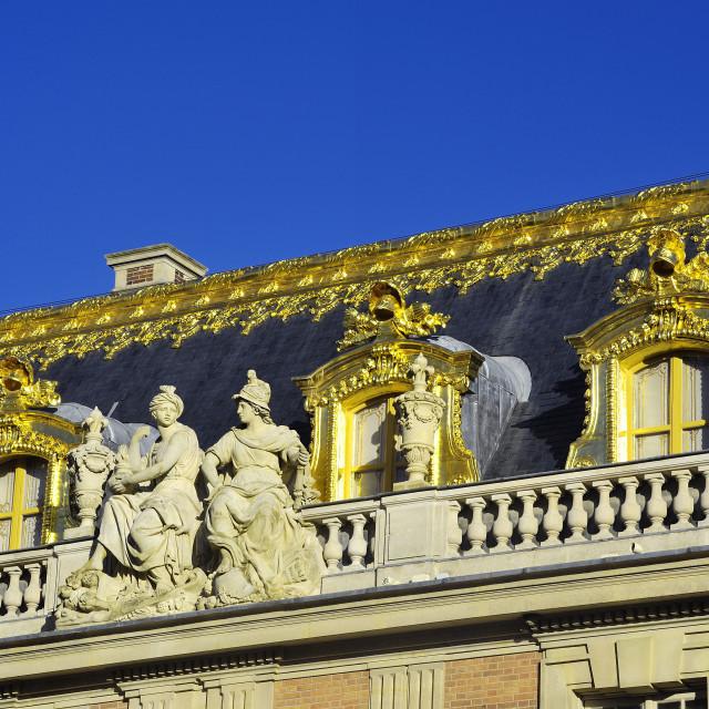"""Castle of Versailles"" stock image"