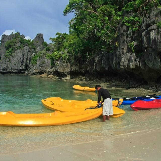 """""""Kayaks"""" stock image"""