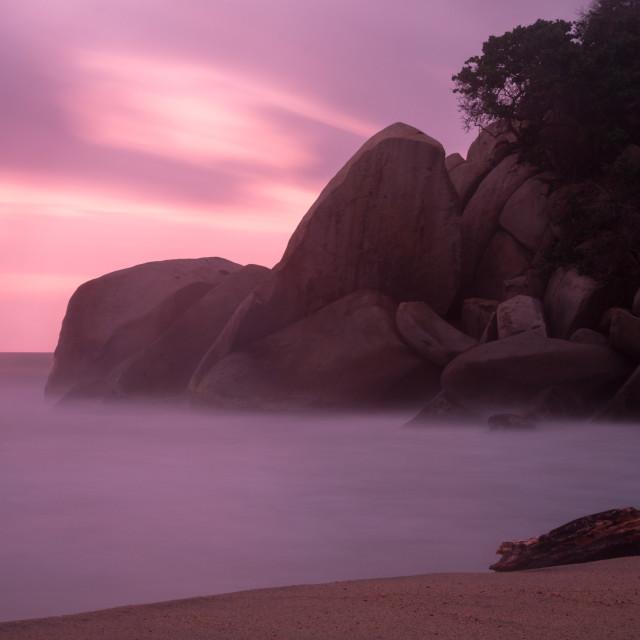 """""""Colombian Sunrise"""" stock image"""