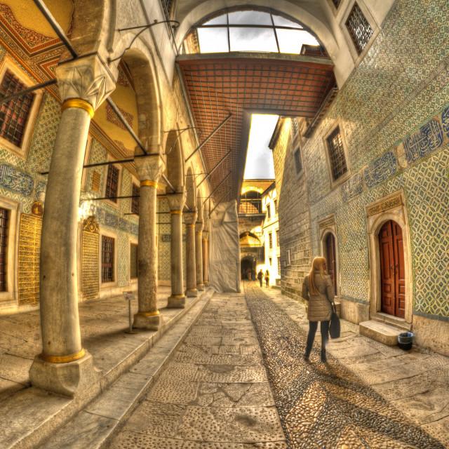 """Harem, Topkapi Palace, Istanbul"" stock image"