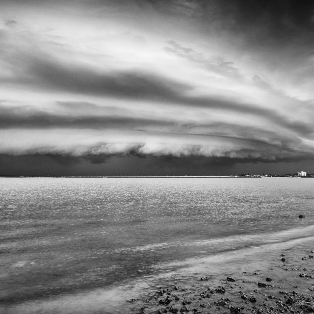 """Shelf cloud"" stock image"
