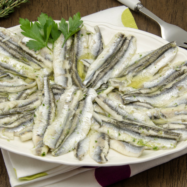 """""""anchovies"""" stock image"""