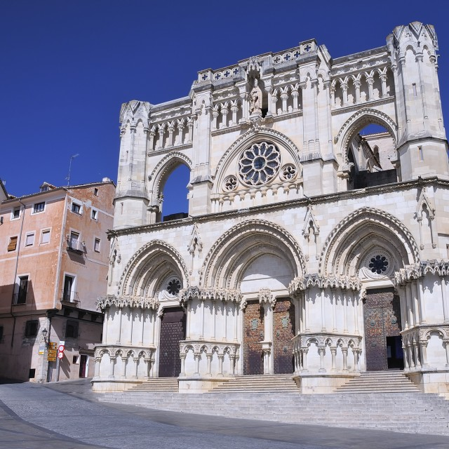 """Cuenca cathedral, Spain."" stock image"